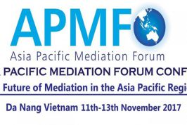 [Da Nang] The 8th Asia Pacific Mediation Forum Conference 2017
